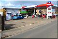 SO9623 : Bouncers Lane Service Station, Prestbury by Jaggery