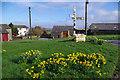 NY1539 : Village green, Threapland by Ian Taylor