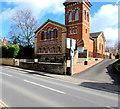 SO9623 : United Reformed Church Prestbury  by Jaggery