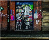 SJ8498 : Lever Street Graffiti, Central Manchester by Matt Harrop