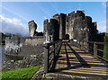 ST1587 : Caerphilly Castle by Chris Gunns