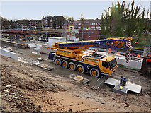 SD8402 : Metrolink Construction at Crumpsall, March 2019 by David Dixon