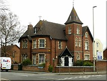 SO8318 : Peter Scott House, Heathville Road, Gloucester by Alan Murray-Rust