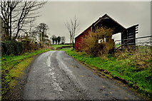 H6058 : Shed along Tullylinton Road by Kenneth  Allen