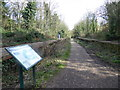 TQ3087 : The former Crouch End station on the Parkland Walk by Marathon