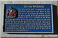 SO8318 : Blue plaque to George Whitefield by Philip Halling