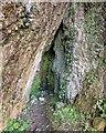 NH6852 : Cave below Craigiehowe by valenta