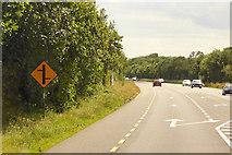 S4106 : Westbound N25 near Kilmacthomas by David Dixon