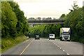 S3905 : Bridge over the N25 near Kilmacthomas by David Dixon