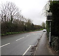 ST2582 : Your Speed indicator alongside Marshfield Road, Marshfield by Jaggery