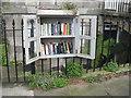 NT2574 : Little Free Library, Scotland Street by M J Richardson