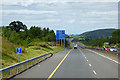 S5134 : Northbound M9 near Carrickshock by David Dixon