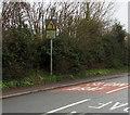 ST2582 : Slow down - bends ahead, Marshfield Road, Marshfield by Jaggery