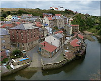 NZ7818 : Staithes in North Yorkshire by Mat Fascione