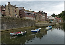 NZ7818 : Boats on Staithes Beck, Staithes by Mat Fascione