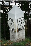SE1438 : Old milemarker by Milestone Society