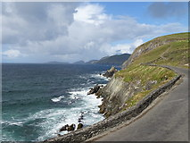 V3198 : Cliffs of Dunmore Head by Matthew Chadwick