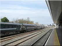 SP5006 : Oxford Station Looking Northwards by Roy Hughes