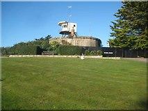 TM1714 : Clacton-on-Sea: Martello Tower F by Nigel Cox