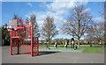 TQ1382 : Part of Ravenor Park by Des Blenkinsopp