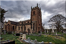 SJ7744 : All Saints Church Madeley by Brian Deegan