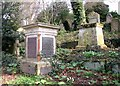 TG2408 : Gravestones and monuments by Evelyn Simak