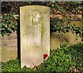 TG2408 : A Commonwealth war grave by Evelyn Simak
