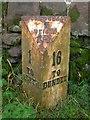 NO2547 : Old Milestone by Milestone Society
