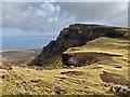 NG4658 : The bealach south of Creag a' Lain by John Allan