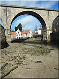NO4102 : View through the old viaduct, Lower Largo by Richard Sutcliffe