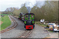 SK2405 : Statfold Barn Railway - top and tailed by Chris Allen