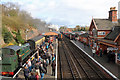 SO7975 : Severn Valley Railway - busy at Bewdley by Chris Allen