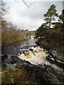 NY9027 : River Tees - Low Force Waterfall by Anthony Parkes