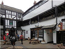 SO8318 : New Inn, Gloucester by Rudi Winter