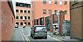 J3373 : The narrow Harmony Street, Belfast - March 2019(1) by Albert Bridge