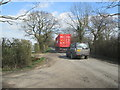 SE7431 : No  chance  of  overtaking  on  a  country  lane by Martin Dawes