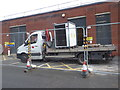 SO8754 : Worcestershire Royal Hospital - load testing by Chris Allen
