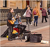 NS5965 : Busking in Glasgow - March 2019 by The Carlisle Kid