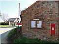 TG3422 : Victorian Post box in Pennygate by Adrian S Pye
