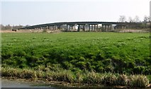 TM4599 : Haddiscoe Bridge from the south-west by Evelyn Simak