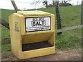 NT0443 : Salt box near Crawcraigs by M J Richardson