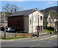 ST1189 : College building in The Square, Abertridwr by Jaggery