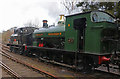SO7483 : Severn Valley Railway - locomotives standing at Highley by Chris Allen