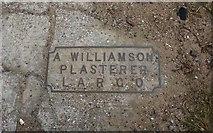 NO4202 : Memorial plaque, Lower Largo by Bill Kasman