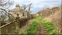 NO4202 : Fife Coastal Path, Lower Largo by Bill Kasman