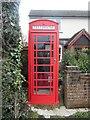 SP9103 : K6 Telephone Box at Ballinger Common (1) by David Hillas