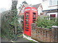 SP9103 : K6 Telephone Box at Ballinger Common (2) by David Hillas