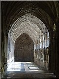 SO8318 : The cloisters, Gloucester Cathedral by Philip Halling