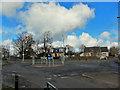 NS4664 : Suburban roundabout, Paisley by Richard Dorrell