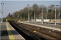 TQ2837 : Three Bridges Railway Station by Peter Trimming